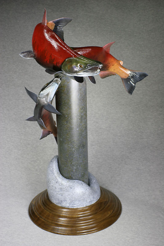 Wasco award winning kokanee salmon