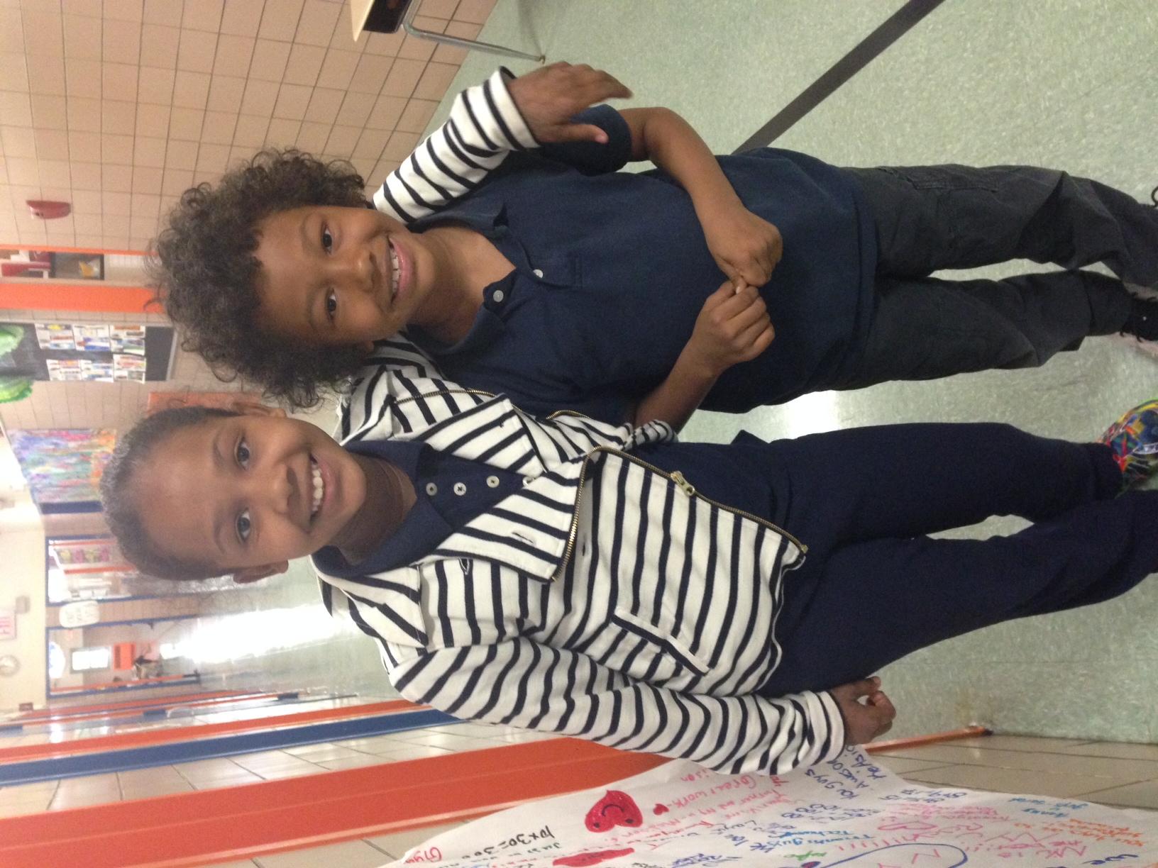 Samara - 4th Grade & Cai - 1st Grade