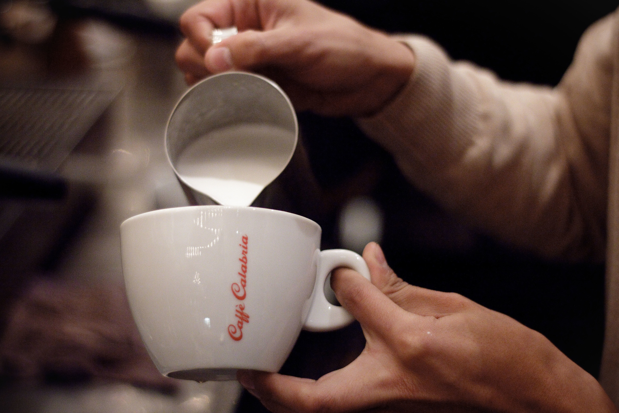 Our host, Caffe Calabria.