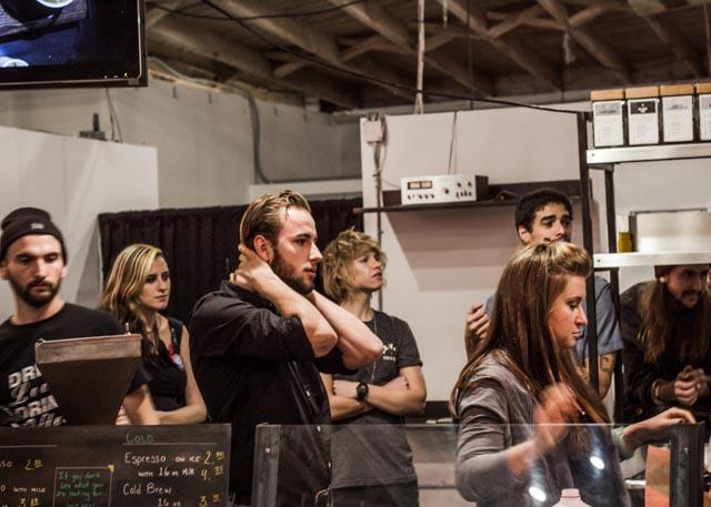 Jonathan and Savannah Waiting in Anticipation.