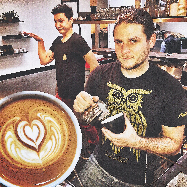 Matt, James Coffee Co.