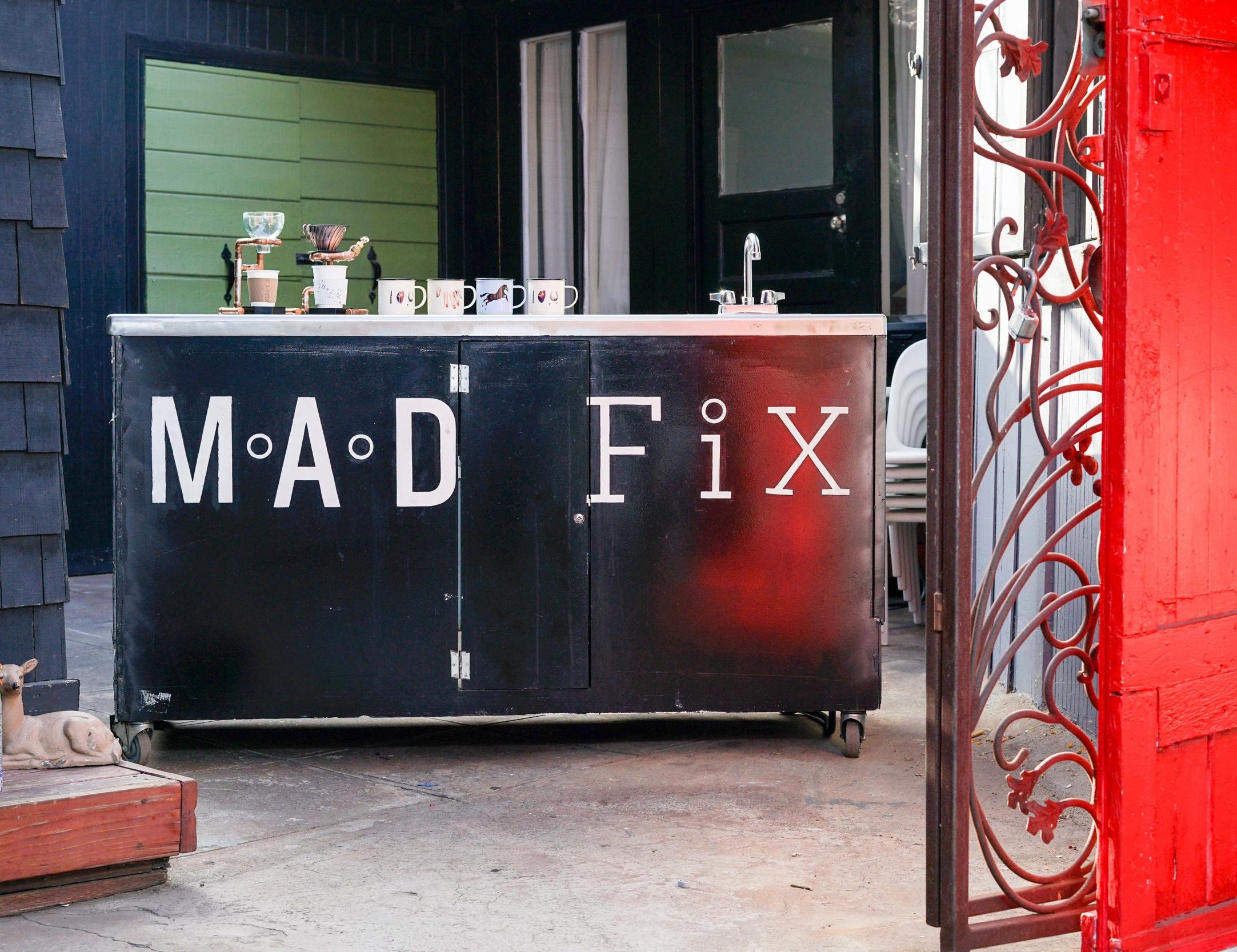 The M.A.D. FiXBrew Bar. Photo by Jose Lopez.