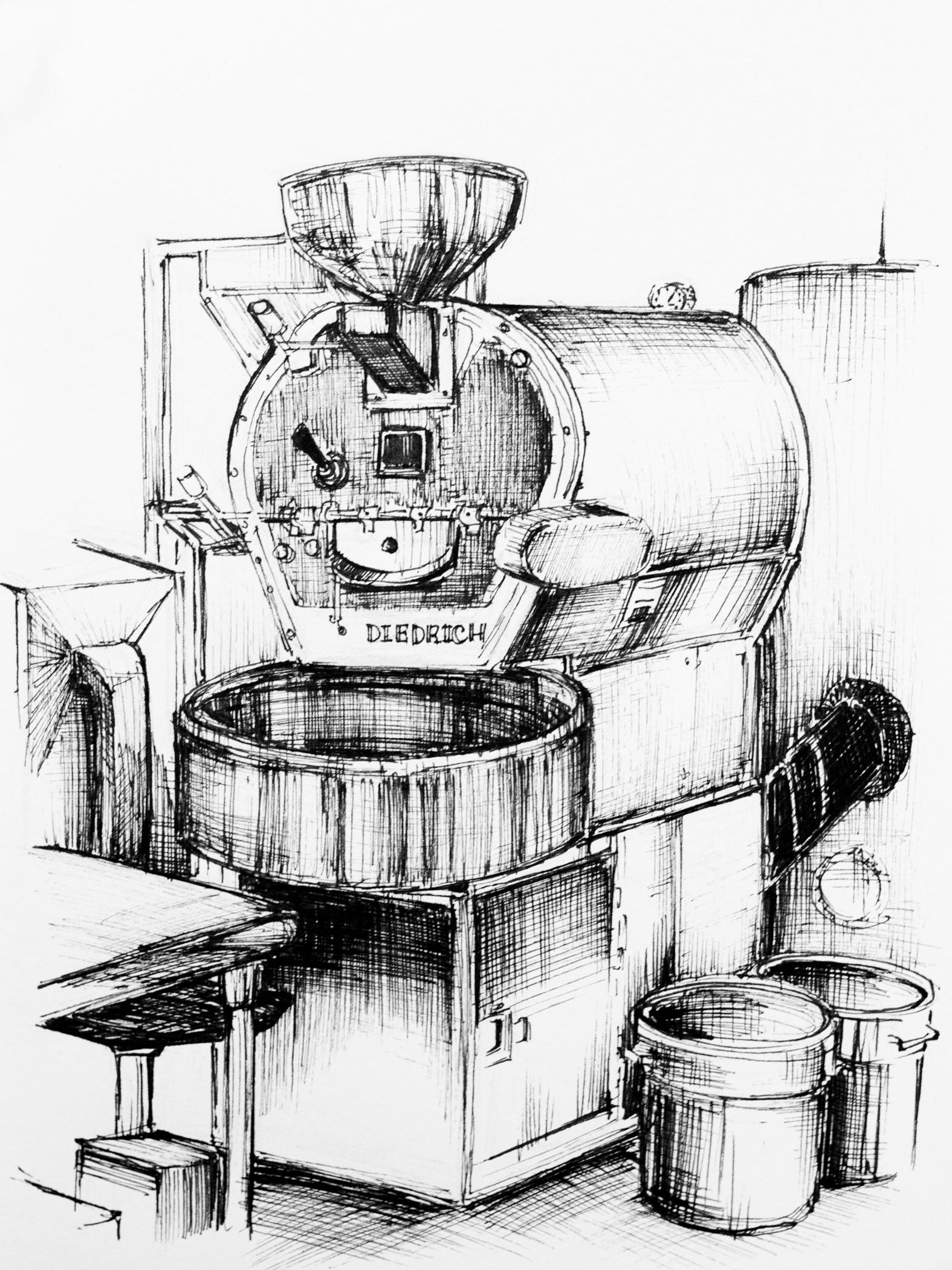 Cafe Virtuoso. Illustration by Mary Jhun Dandan.