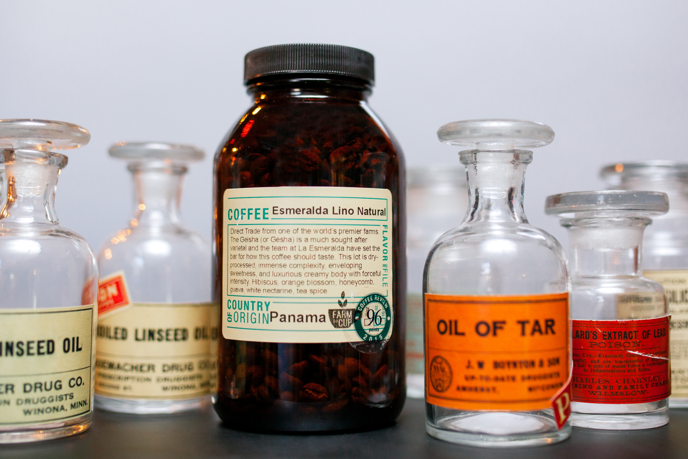Vintage Apothecary Bottles: $11. Photo by Julie Rings.