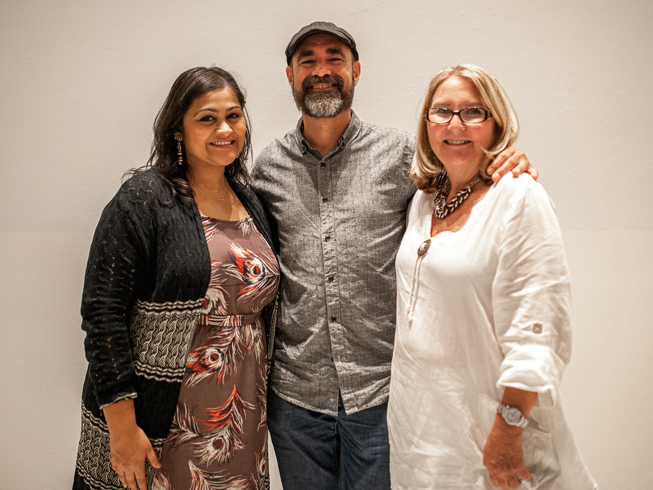 From left to right: Mansi Chokshi, SCAA Director of Membership; Martin Diedrich, Kean Coffee; Karen Cebreros, Women of Coffee Micro-finance Fund and Co-founder of the IWCA. Photo by  Julie Rings .