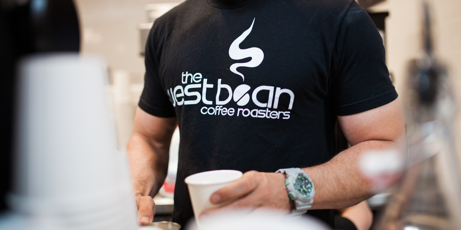 The WestBean Coffee Roasters located at  Liberty Public Market . Photo by Julie Rings