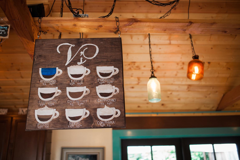 V's Coffee Shoppe at Bernardo Winery in North County inland. Home of Manzanita Roasting Company. Photo by Julie Rings.
