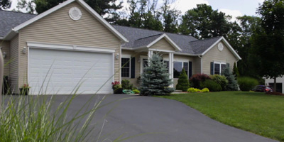A newer luxury home in Poplar Hill Estates that offers one-level living.