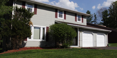 A perfectly updated 2-story home with fresh paint inside and out. Close to schools!