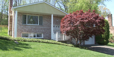 A great split-entry with brick exterior close to Binghamton University.
