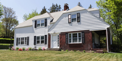 Stately 2-story home on a beautiful lot on Binghamton's South Side.