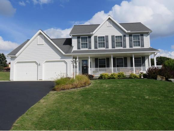A newer 2-story home with some of the best views in the Southern Tier.