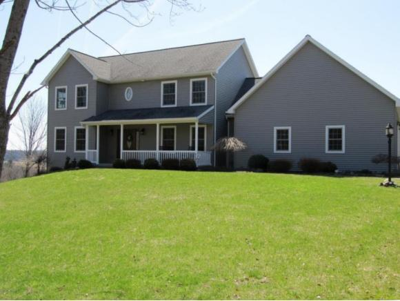 A newer large home on an acre just a couple minutes to town.
