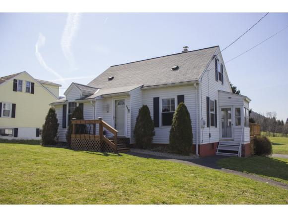 A cute and cozy Cape Cod with a level back yard and a convienient location.