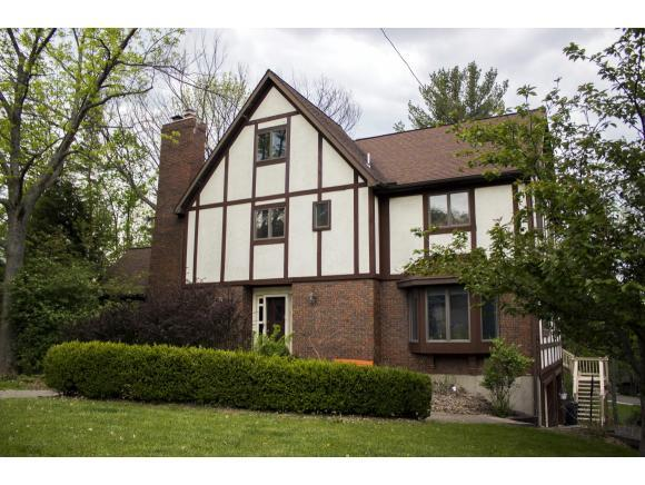 lovey Tudor on South Mountain with updates including a gourmet kitchen and finished attic.