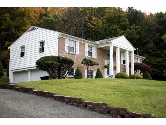 A stately updated home in the hills of Vestal.