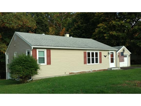 An updated Ranch on over an acre on a dead-end street in the heart of Vestal.