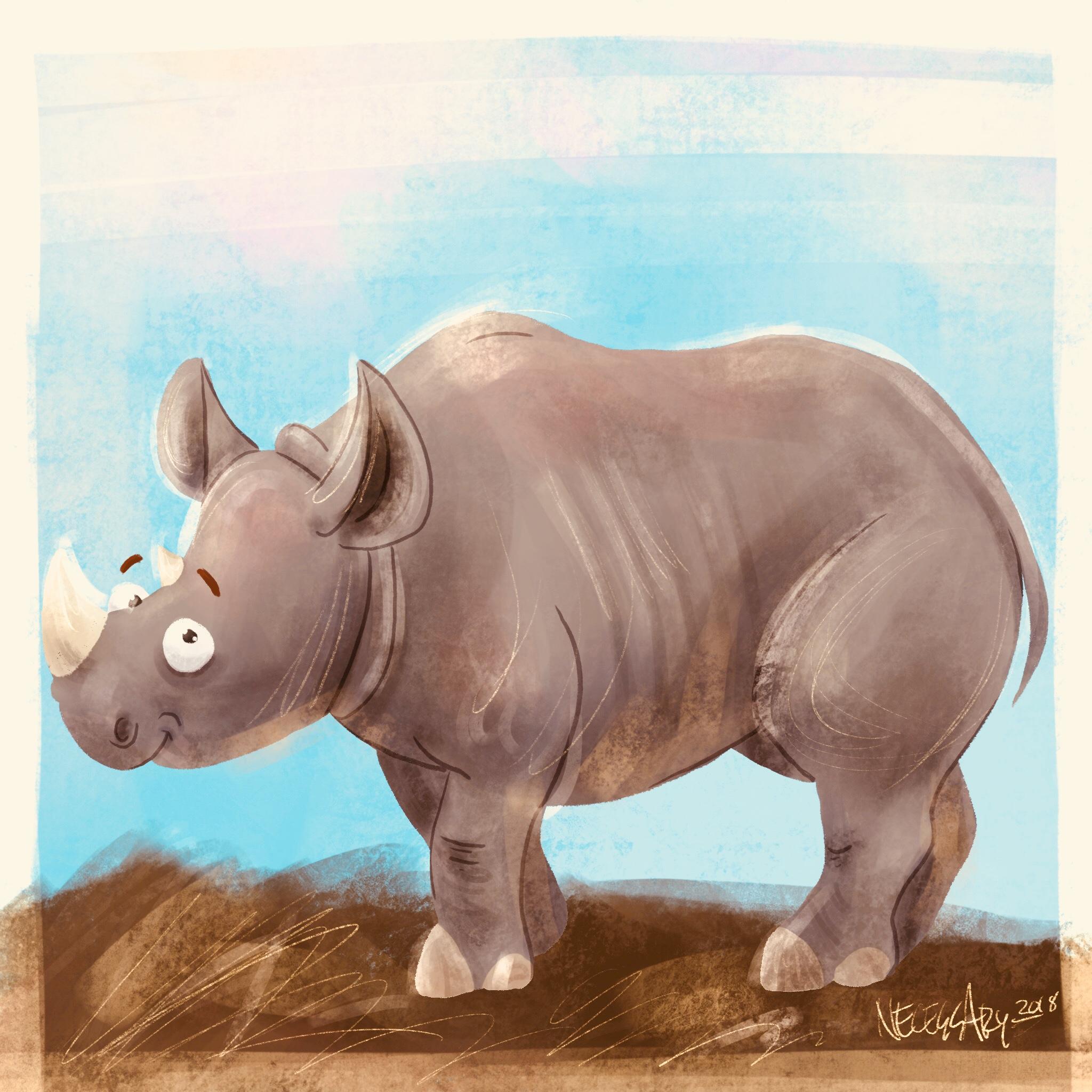 Kendi the Rhino