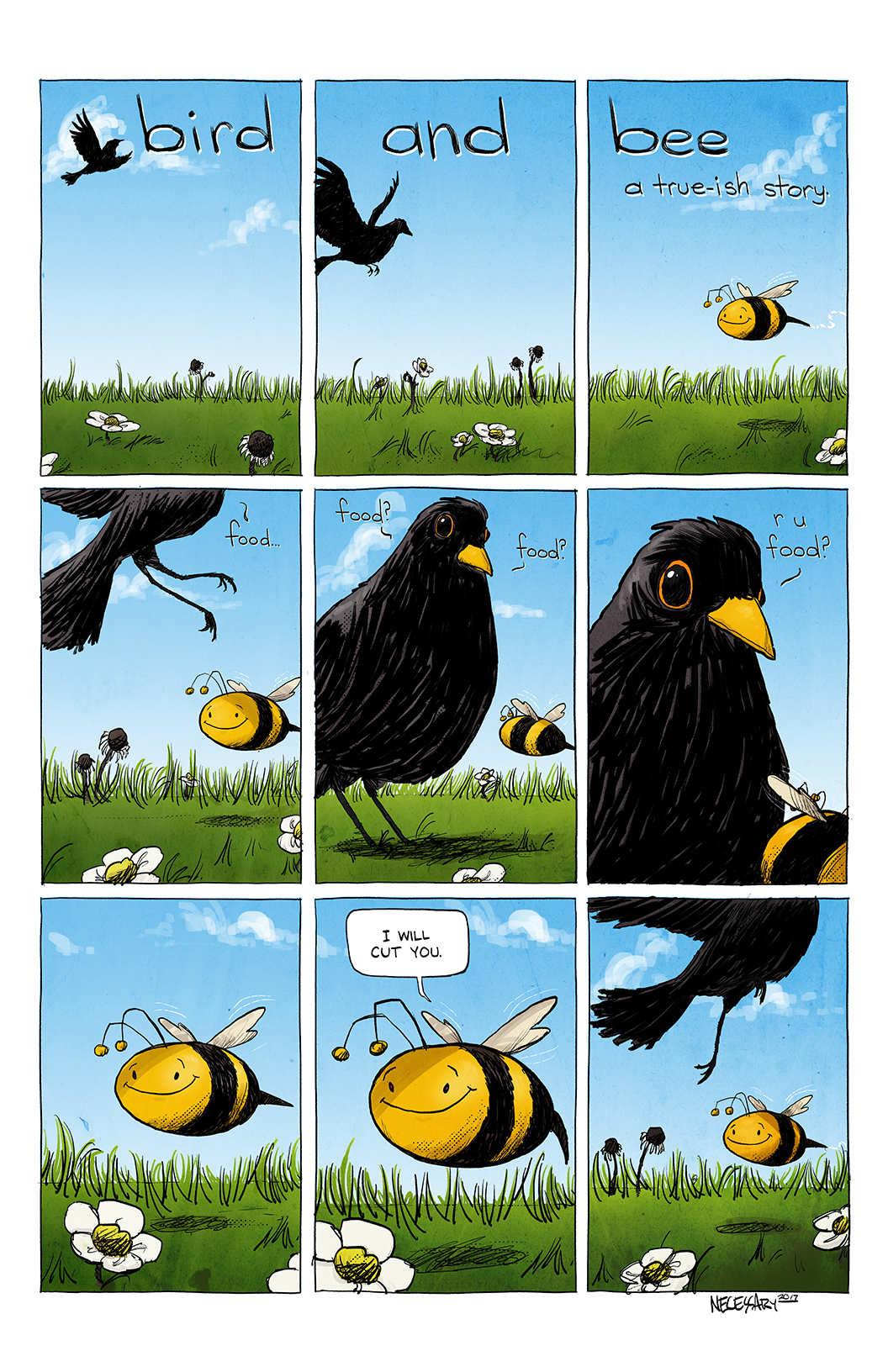 Bird and Bee: A True-is Story