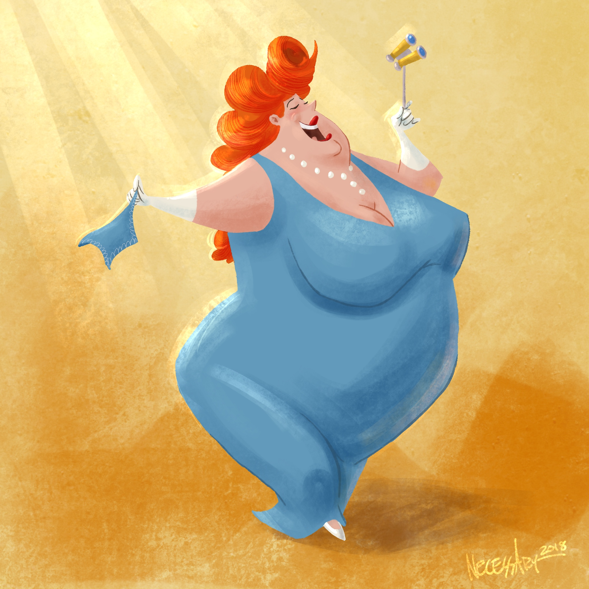 The Opera Fan