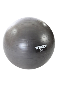 TKO Silver Stability Ball 55cm  $20  Available