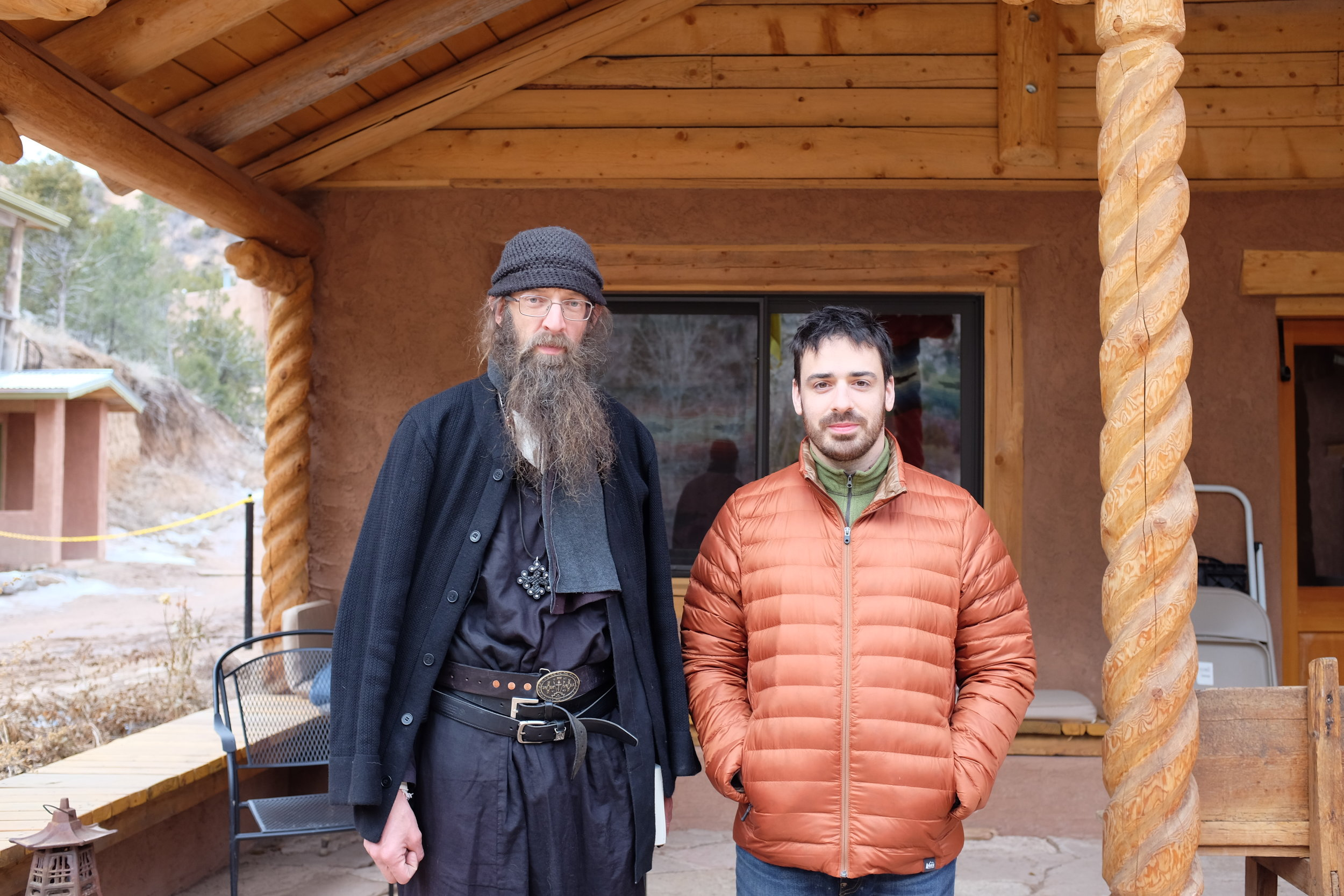 Father Silouan & Jacob on the morning of his becoming catechumen, March 2, 2019.