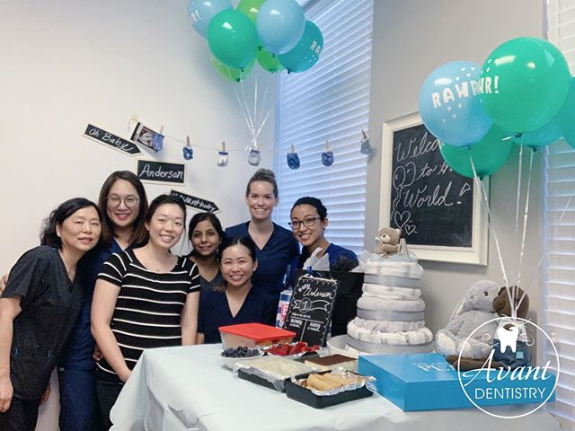 Last week, Dr. Mama-to-be & baby were surprised and showered with so much love from the greatest group of women!! Thank you so much!! 🥰🥰 . . . . . . #happymothersday #babyshower #mamatobe #dentist #baby #plano #texas #toothfairy #sofreshsoclean