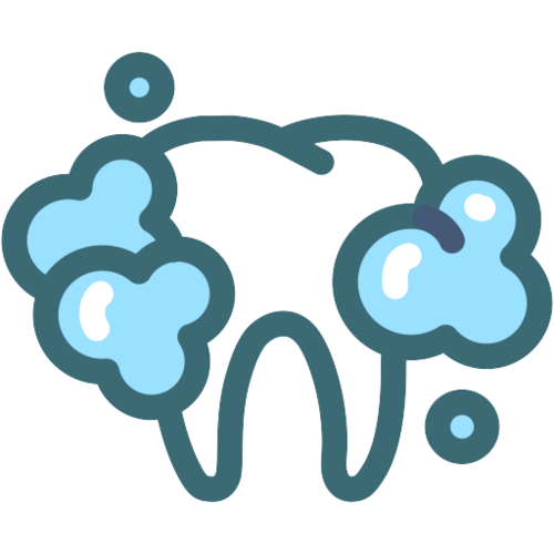 Dental Cleanings   Plaque and bacterial calculus build-up occurs everyday. A dental cleaning uses specialized instruments to remove the bacterial collections to promote oral health