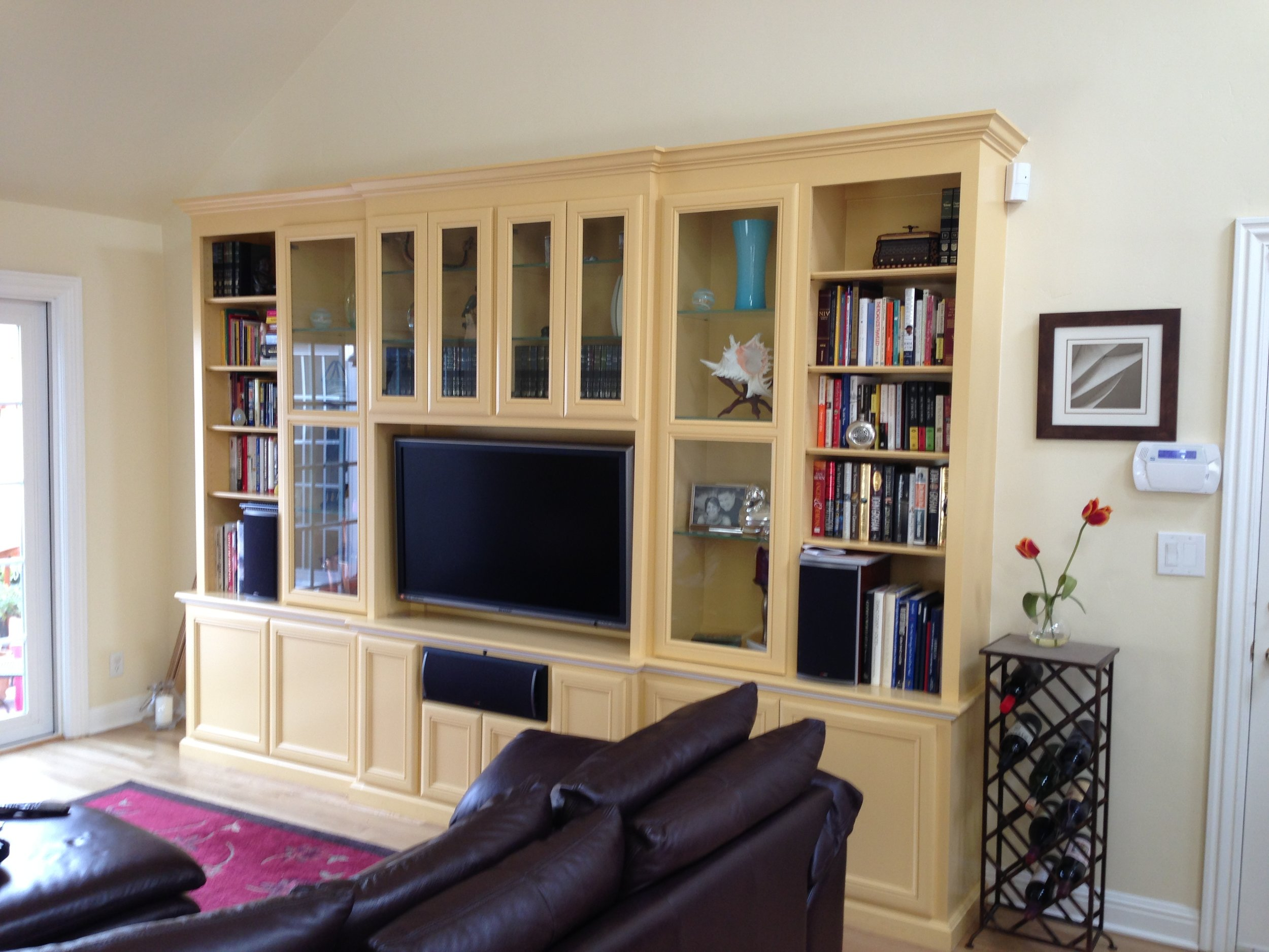 BEFORE MEDIA UNIT WAS PAINTED