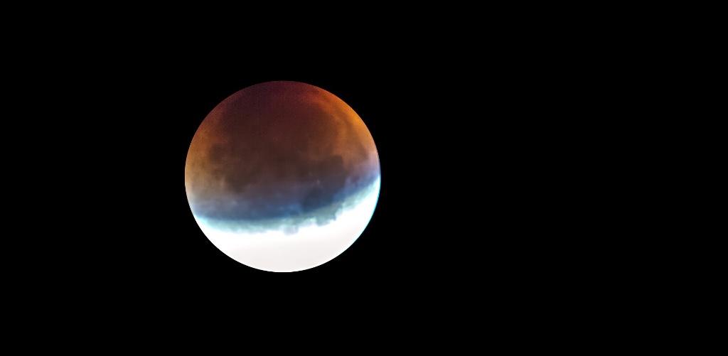Full moon eclipse