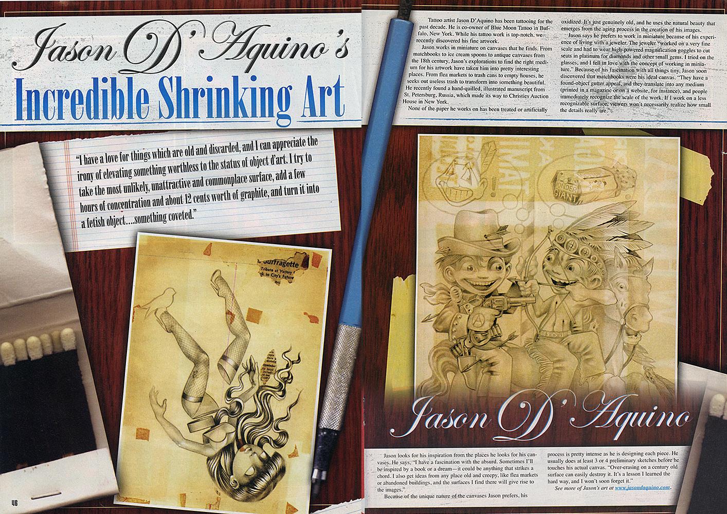 TATTOO REVUE // ISSUE #130 // 2007