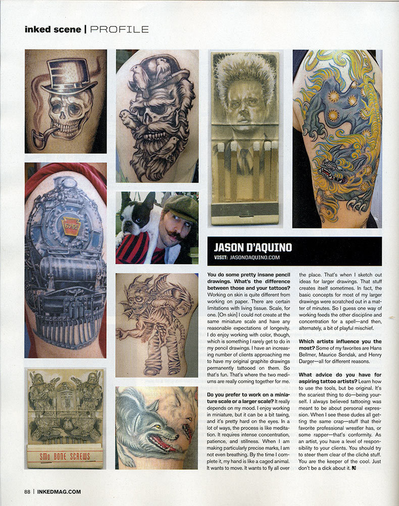INKED MAGAZINE  // CULTURE. STYLE. ART. // ISSUE 49 // OCTOBER 2012