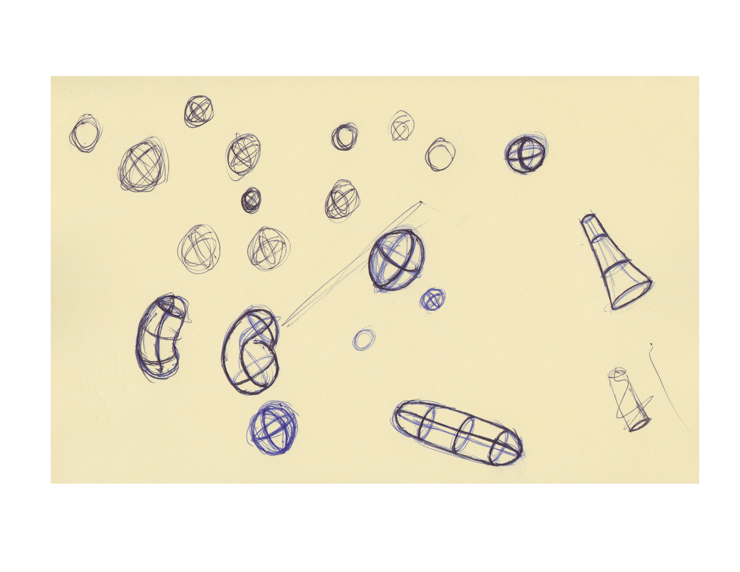 Some shape doodles.
