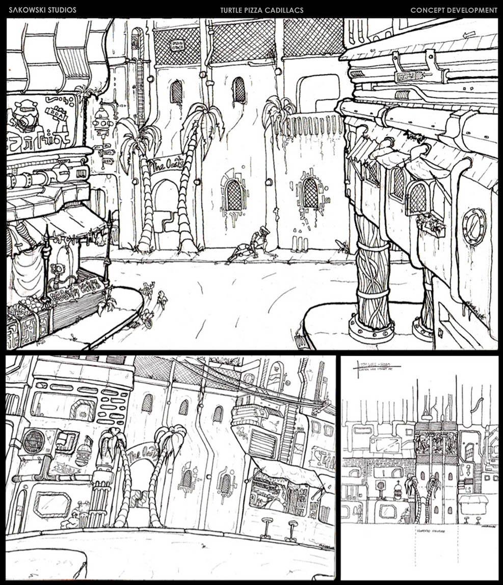 Exterior Set Concepts