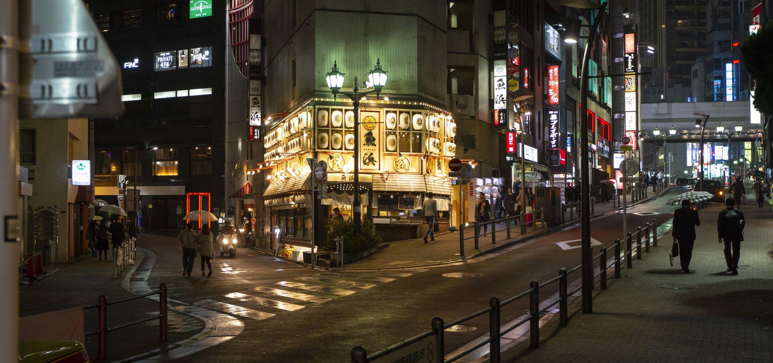 Wandering around Roppongi in Tokyo