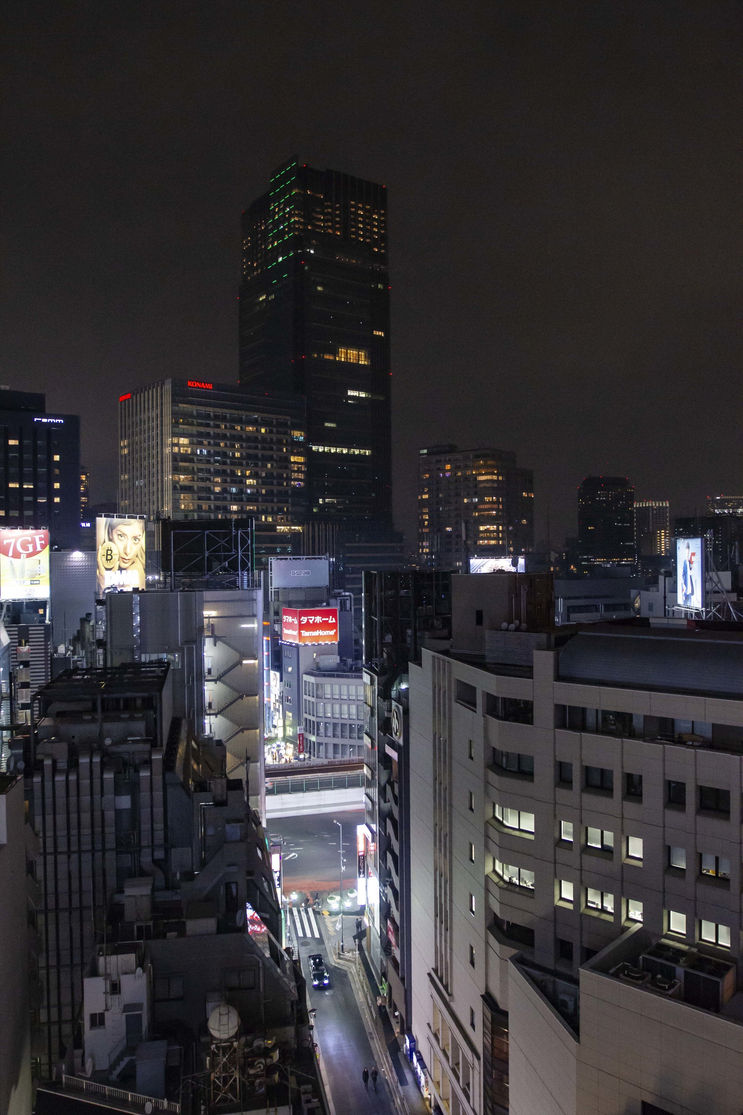 Roppongi view from our hotel.