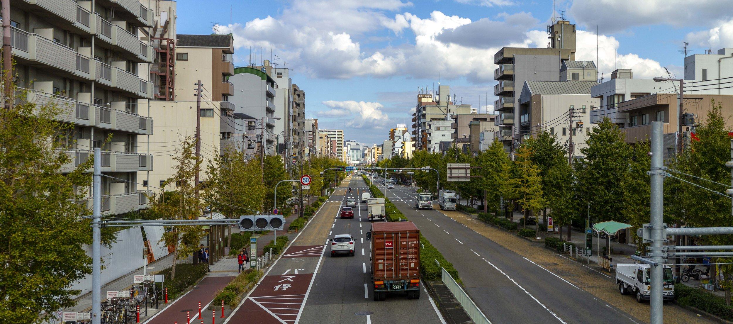 Wandering the streets of Osaka
