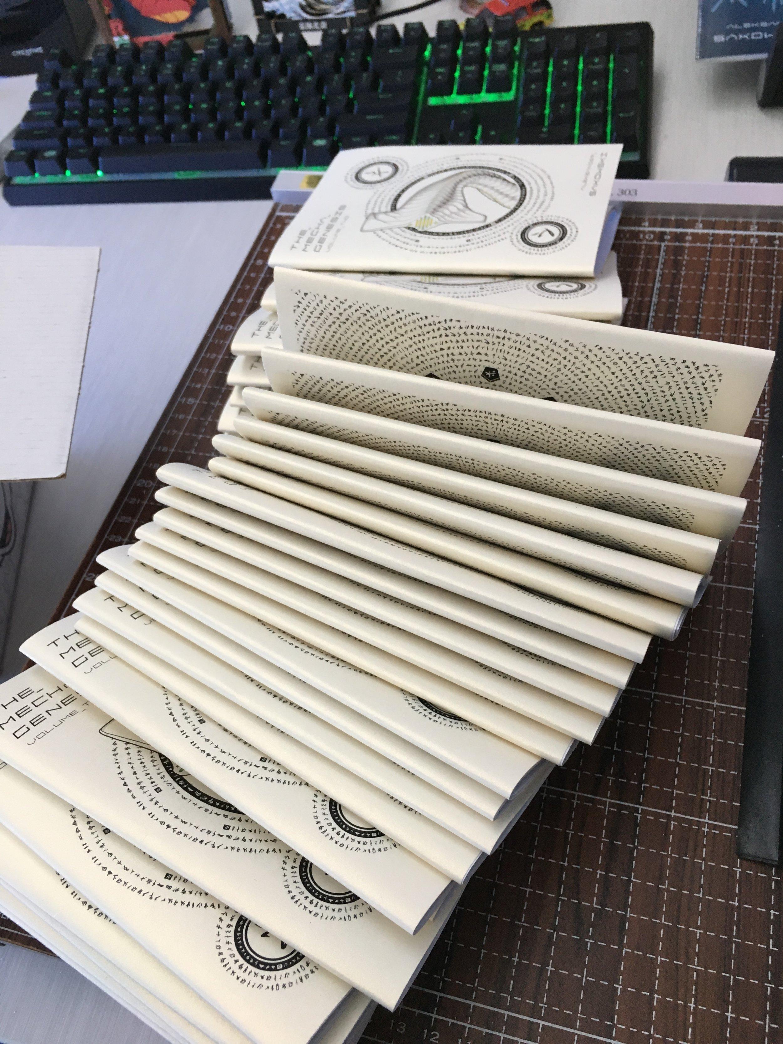 Folding the Zines