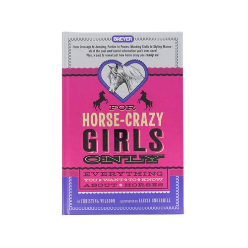 A must read if you're horse-crazy (which of course you are if you're on this site!). A ton of fun info about horses and riding.
