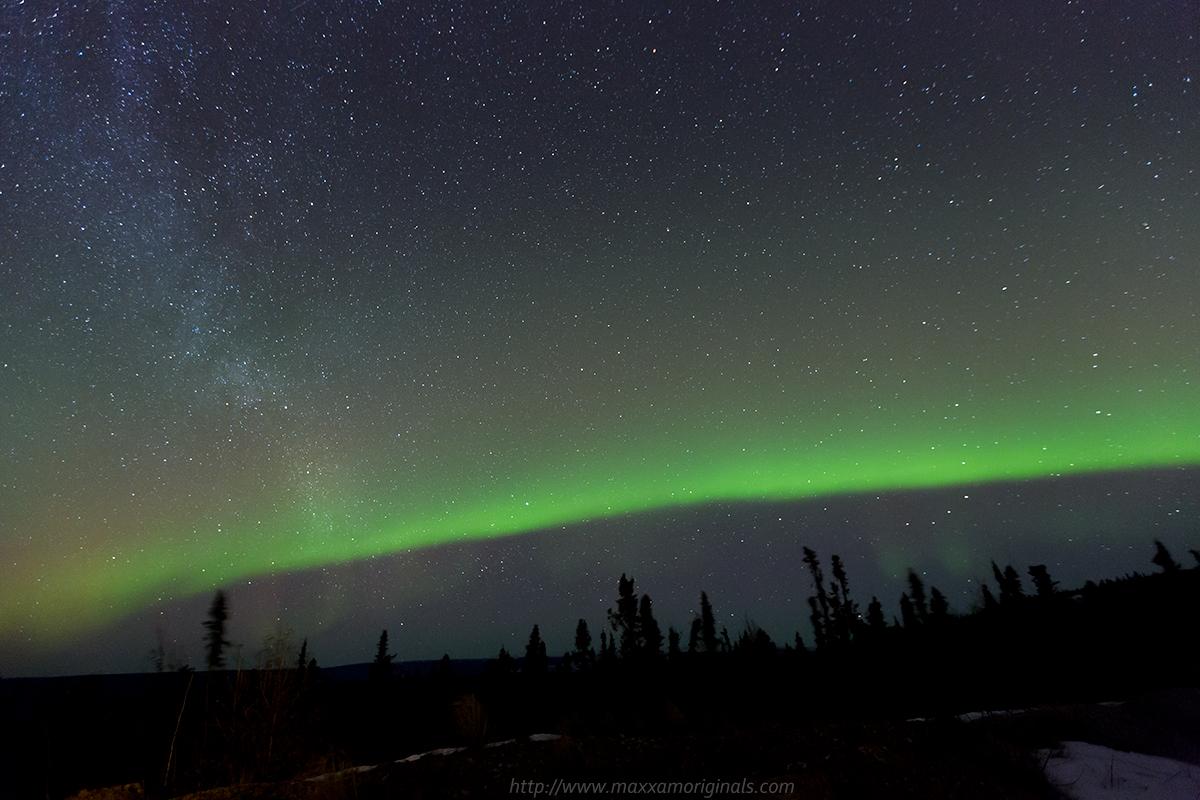 Aurora Borealis starting