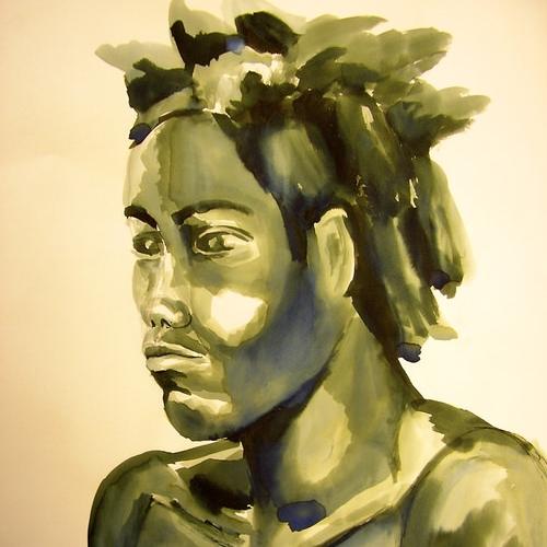 PORTRET  Er zijn vele manieren en materialen om een portret te maken.  SCHADUW EN LICHT IN HET GEZICHT (vanaf 12 jaar)  COLLAGE PORTRET (vanaf 6 jaar)  EEN STOFFIG GEZICHT (vanaf 2 jaar)
