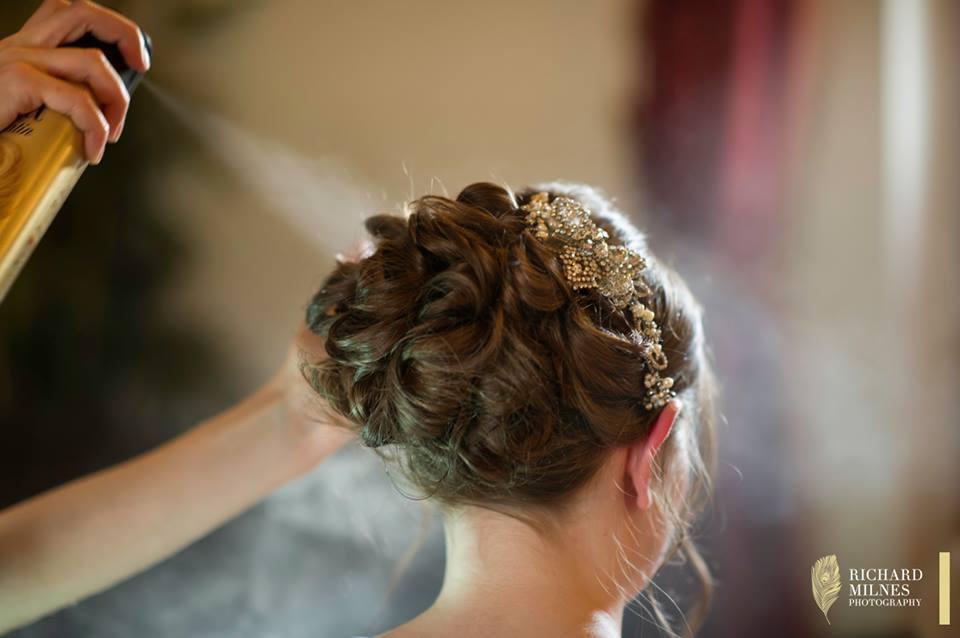 Bride's Hair Cheshire.....