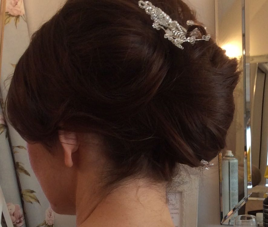 Bridal hair Cheshire