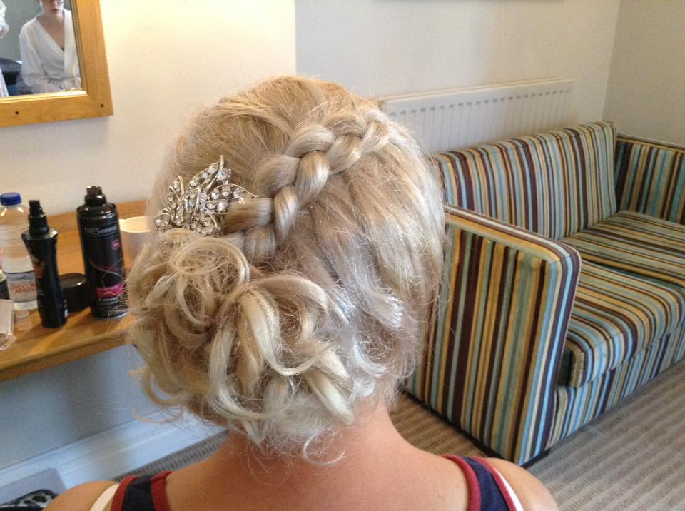 bridesmaid hair cheshire