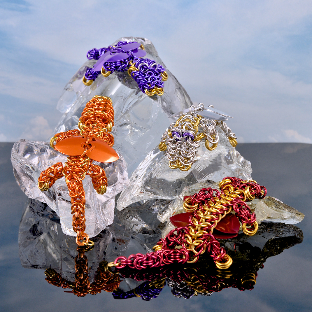 Chainmaille Dragons