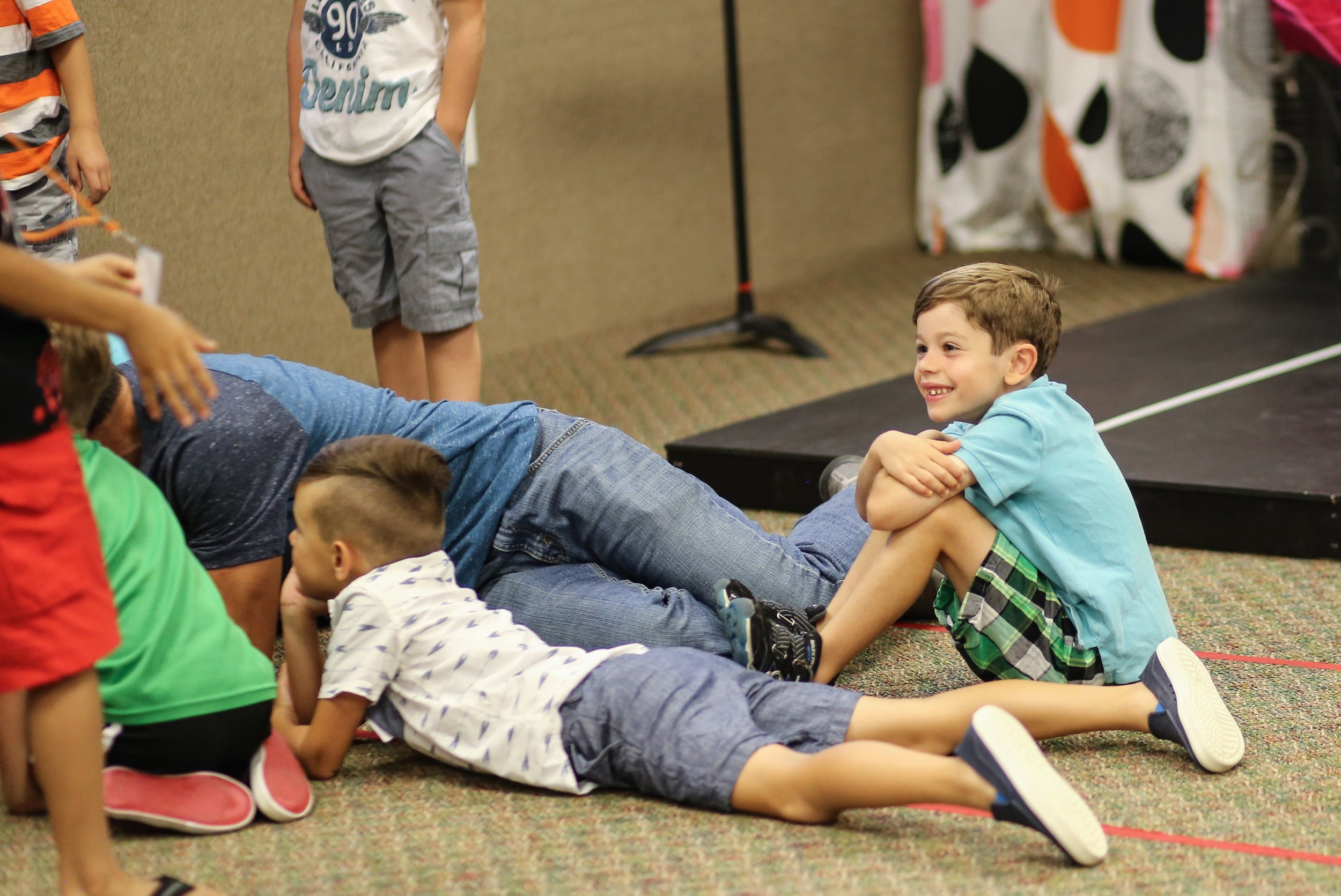 ELEMENTARY - [K to 5th Grade] is our environment where we believe the Bible should never be boring, worship can be loud, and good leaders always care.Dalton Campus: 9:00am & Massillon Campus 11:00am