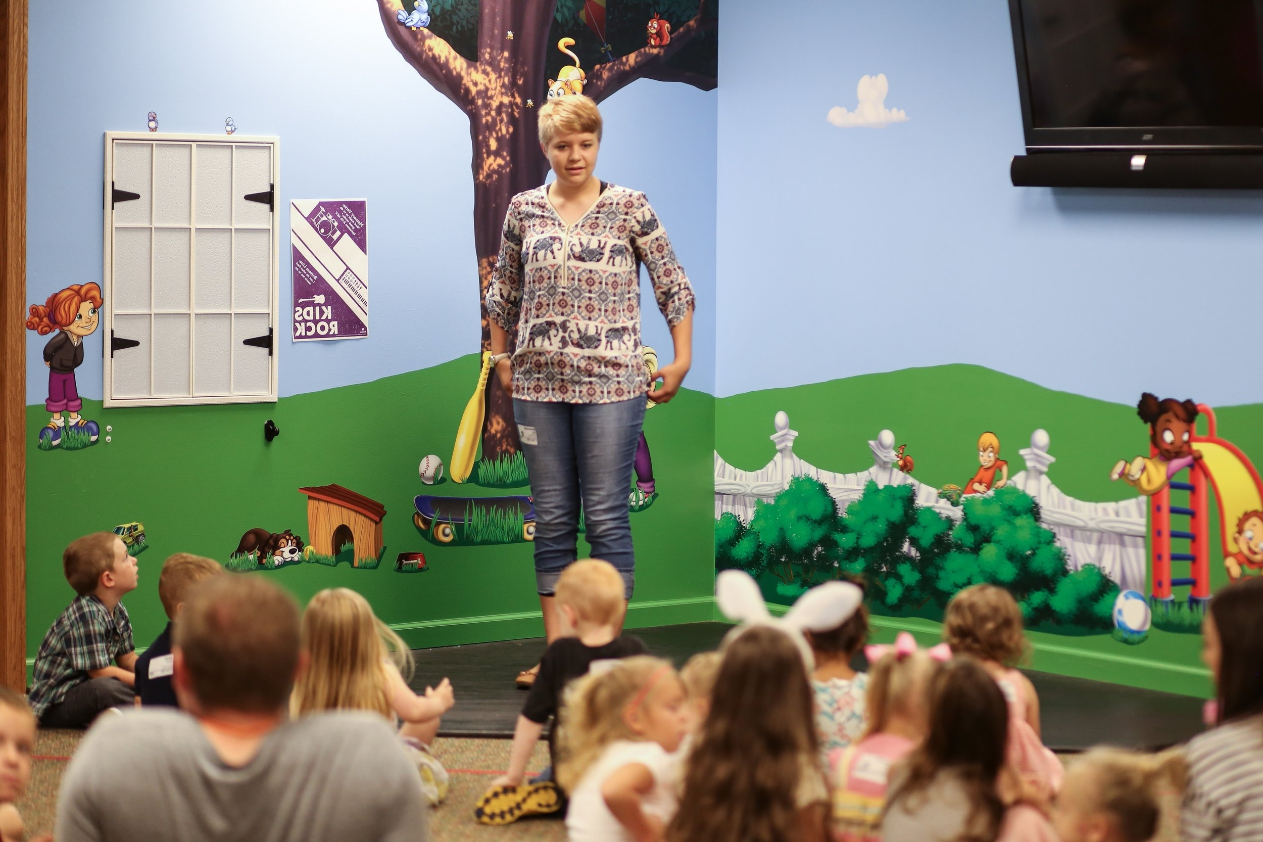 PRESCHOOL - [3 years old to Pre-K 5's]is our environment where you child will learn that God made them, God loves them, and Jesus wants to be their friend.Dalton Campus:9:00AM & 10:30AM and Massillon Campus:9:30AM & 11:00AM