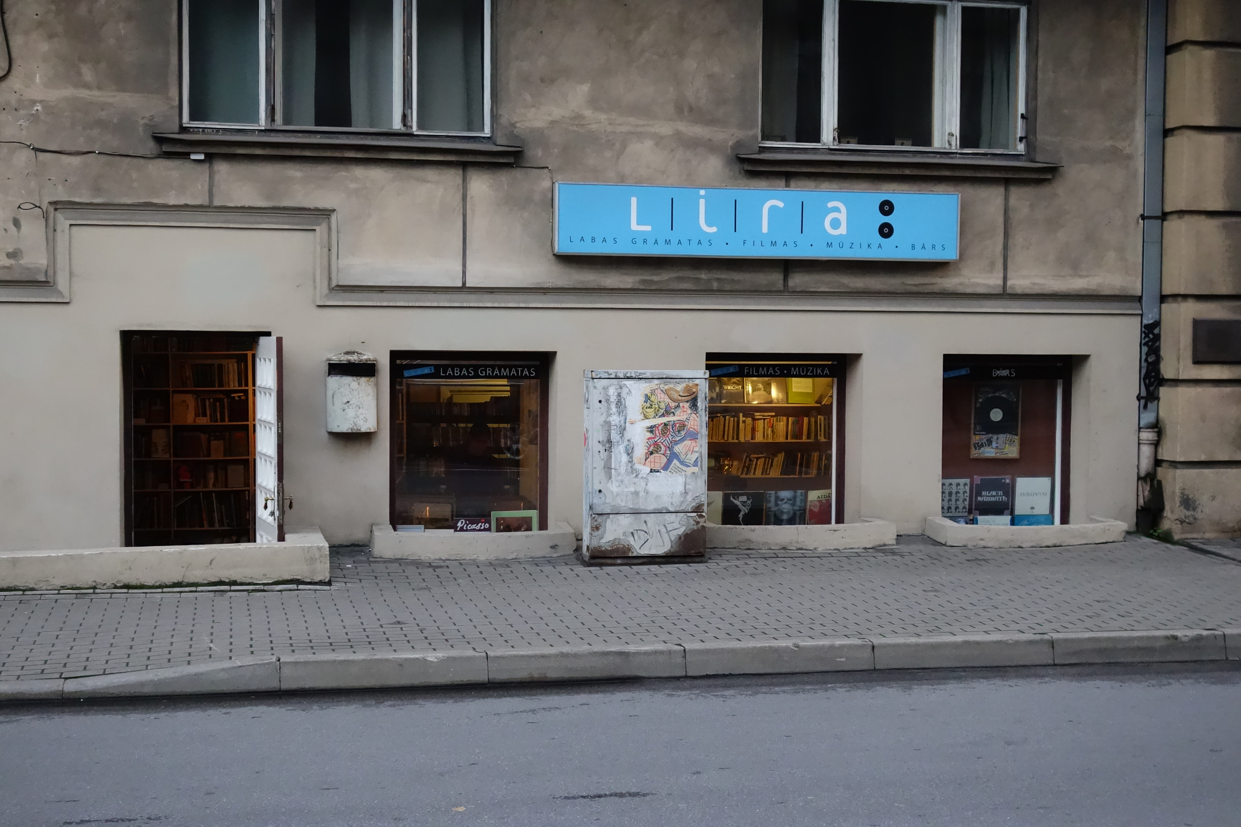 Fantastic selection of Eastern Bloc vinyl here @ LIRA - the only recordshop I hit during the first trip. Polskie Nagrania, Melodia, Electrecord, Hungaroton for days.