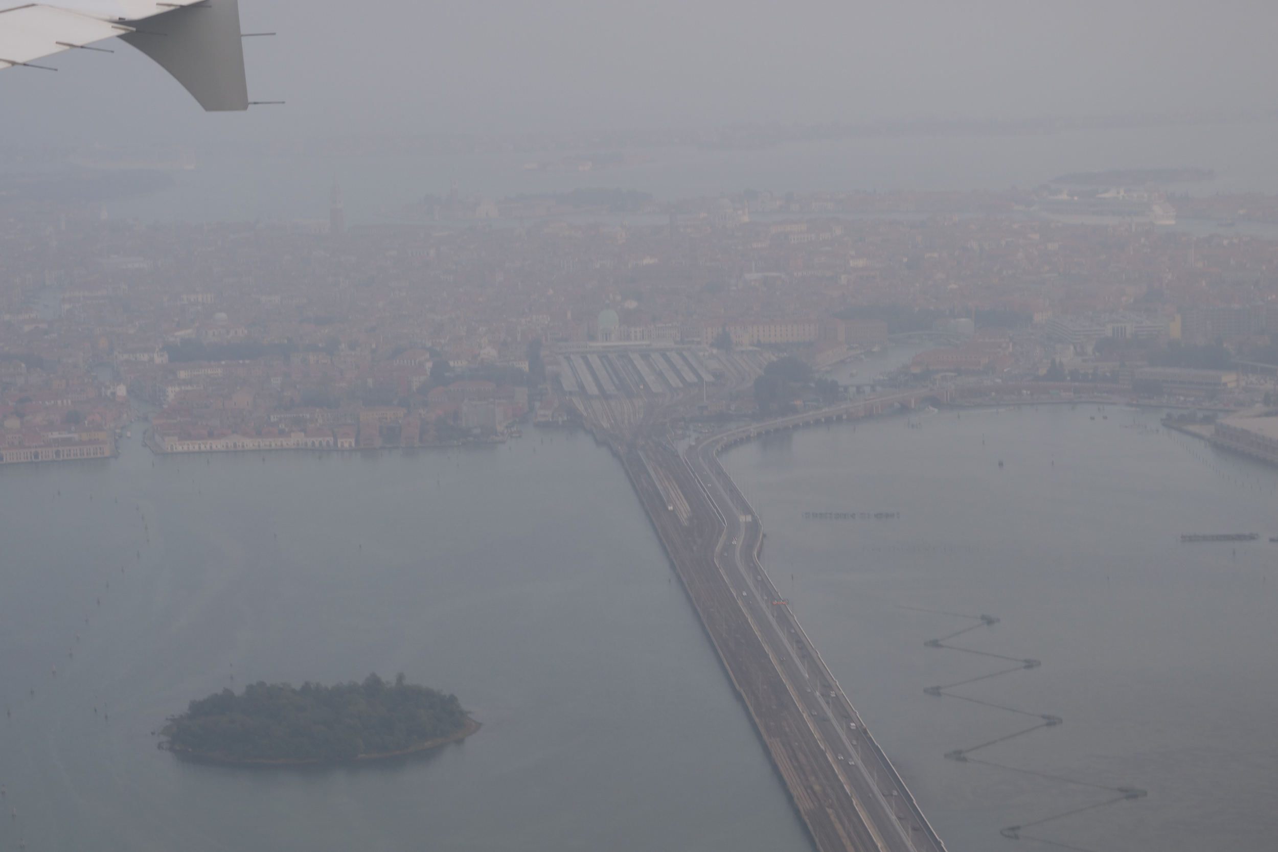 Venice by planewing - unfortunately as close as I got this trip.