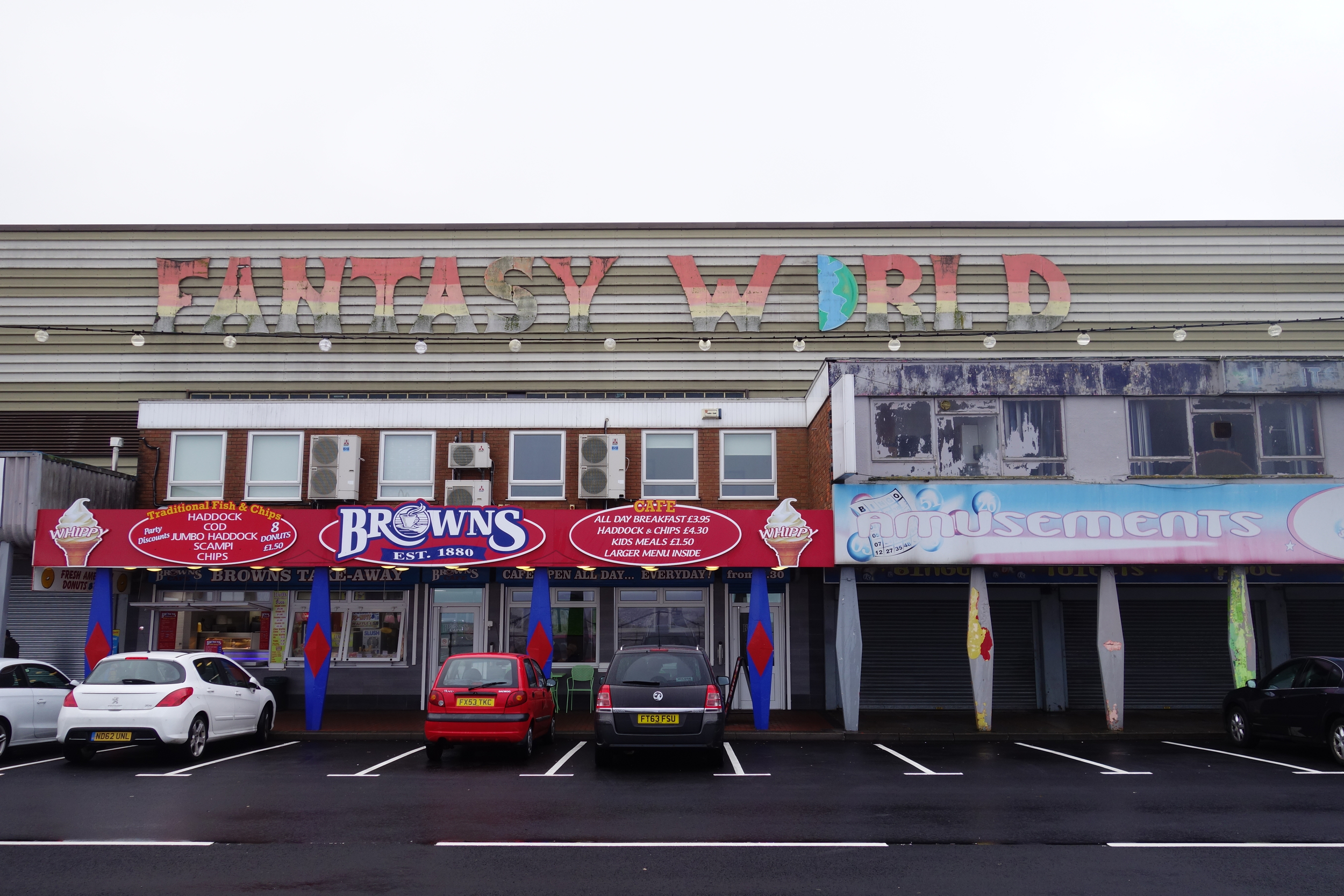 Fantasy World is a place; in Cleethorpes.